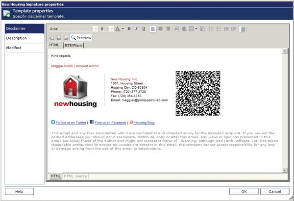 Email Signature Code