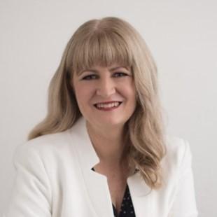 Portrait shot of Sharon Bowman